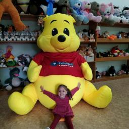 Мягкие игрушки больших размеров цвет 505